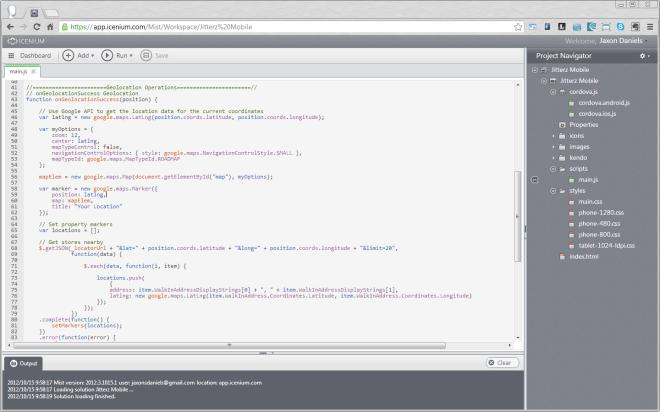 Mist Code Editor